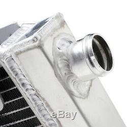 DIRENZA 40mm ALLOY RADIATOR RAD FOR VAUXHALL OPEL VX220 SPEEDSTER LOTUS ELISE
