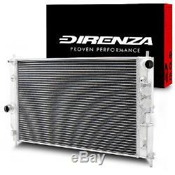 DIRENZA 40mm ALLOY SPORT RADIATOR RAD FOR VAUXHALL OPEL VECTRA B 1.8 2.0 2.5 V6