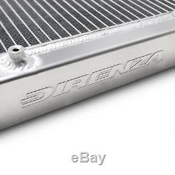 DIRENZA 40mm ALLOY SPORT RADIATOR RAD FOR VW GOLF MK3 2.8 VR6 POLO LUPO 6N 91-02