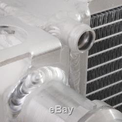 DIRENZA 40mm ALUMINIUM TWIN CORE RACE RADIATOR AUDI A6 S6 2.7 2.0 3.0 TFSI TDI