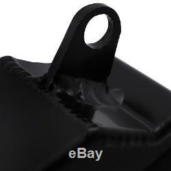 DIRENZA 40mm BLACK ALLOY SPORT RADIATOR RAD FOR BMW MINI R53 COOPER S 1.6 00-06