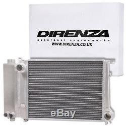 DIRENZA ALUMINIUM SPORT 45mm RADIATOR RAD FOR 3 5 SERIES E30 E34 E36 316 318