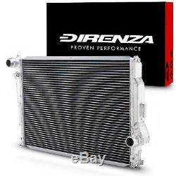 Direnza 42mm Aluminium Alloy Sport Radiator Rad For Bmw 3 Series E46 M3 98-06