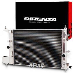 Direnza High Flow Alloy Radiator Rad For Vauxhall Opel Astra J Mk6 Gtc 1.4 Turbo