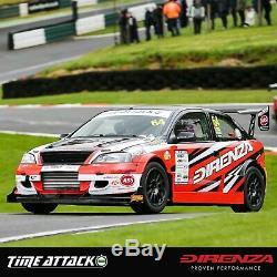 Direnza Twin Core Alloy Race Radiator Rad For Vw Golf Mk5 Mk6 Passat CC Tfsi Tdi
