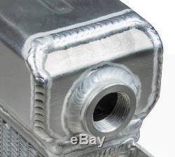 Escort Mk1 Mk2 Alloy Radiator Big Header Ford Duratec Engine Fitting Aluminium
