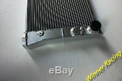 FIT VOLKSWAGEN CORRADO G60 1.8L 16V WithAC. M/T 42MM ALUMINUM ALLOY RADIATOR
