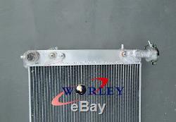FOR Holden Commodore VT 5.0L V8 1997-1999 Alloy aluminum Radiator AT/MT & FANS