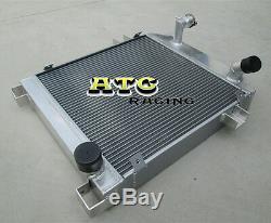 FOR JAGUAR MK1/MK2 MARK 2 1955-1959 S-TYPE 63-68 Aluminum Radiator 56 57 58 59