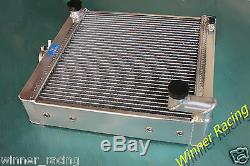 FOR MINI TRACTOR NUFFIELD 425 LEYLAND 154 1500cc ALUMINUM RADIATOR 70MM CORE