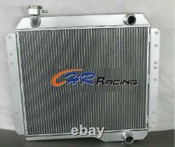 FOR Toyota LAND CRUISER HJ45 HJ47 H 3.6 2H 4.0 Diesel 3 ROW Aluminum Radiator