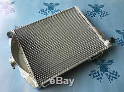 Fit Austin Healey 3000 1959-1967 / 100-6 1956-1959 Full aluminum radiator