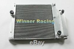 Fit BMW E36 316i 318i 320/325/323/328i M40/42/44/50 MT 91-99 aluminum radiator
