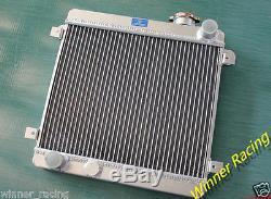 Fit Fiat Seat 128 127 1100 1300 1969-1985 1970 Aluminum Alloy Radiator 40mm