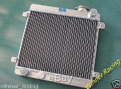 Fit Fiat Seat 128 127 1100 1300 1969-1985 aluminum alloy radiator radiateur 40mm