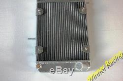 Fit Fiat X1/9 X19 Bertone X1/9 Lancia Scorpion Montecarlo aluminum radiator