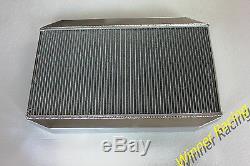 Fit Jaguar XK-E/E-TYPE Series 3 III V12 5.3L 1971-1974 Aluminum Radiator 56MM
