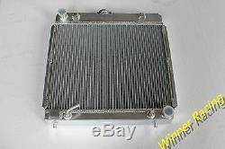 Fit MERCEDES BENZ W123 200D 280C 1976-1985 Aluminum alloy radiator 40MM 2ROWS