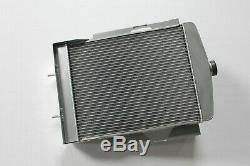 Fit MG T-type MG TC TD Midget 1.3 L XPAG I4 1945-1953 49 50 51 aluminum radiator