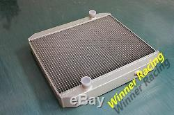 Fit Mg Mgc Gt 2.9l 1967 1968 1969 High Flow Aluminum Alloy Radiator 50mm Core