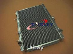 Fit Nissan 200SX S13 CA18DET 1.8 Turbo 88-94 MT Aluminum Radiator 89 90 91 92 93