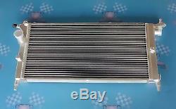 Fit Opel/VAUXHALL CORSA B 1.2i 1.4i 1.6i 1993-2000 40mm 2 rows aluminum radiator