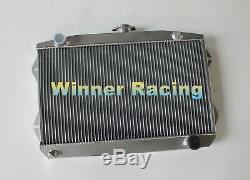 Fit Sunbeam Alpine Series V 1.7L 1725 cc I4 1965-1968 aluminum radiator 2 Rows