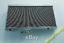 Fit TOYOTA STARLET GT TURBO EP82/GLANZA EP91 4E-FTE M/T ALUMINUM RADIATOR 40mm