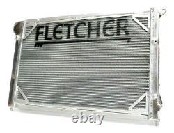 Fletcher BMW Mini Cooper S R52/R53 Radiator Twin Core Aluminium Alloy