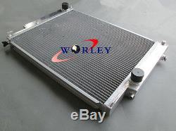 For BMW E36 M3 323 IC/IS 325I/IC/IS 328I/IC/IS 1992-1999 Aluminum radiator