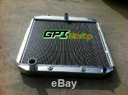 For FORD PICKUP F350 F250 F100 FORD Engine 1953 1954 1955 1956 aluminum radiator