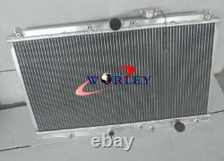 For HONDA ACCORD 1990 1991 1992 1993 PRELUDE 92-96 94 MANUAL Aluminum Radiator