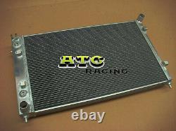 For Holden Commodore VY V8 5.7 LS1 2002-2004 Aluminum radiator & hose BLUE