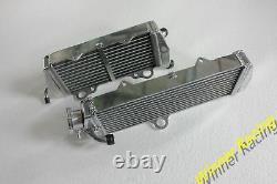 For KTM 500 MX/500MX 1989 89 Aluminum Alloy radiator 32MM Core