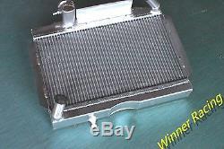 For MG MGA MT 1955-1962 1.5L 1.6L Aluminum Alloy Radiator 56MM Core