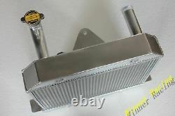 For Morgan 4/4 1600 With Ford Kent Crossflow engine 1969-1993 ALUMINUM RADIATOR