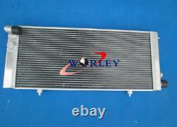For PEUGEOT 205 GTI 1.6 1.9 1.8 DIESEL MT 1984-1994 Aluminum Radiator + FANS
