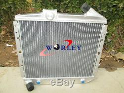 For RENAULT SUPER 5/R5 9/11 1.4L GT TURBO 85-91 Aluminum Radiator&Intercooler AT