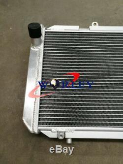 For TOYOTA MR2 SW20 MR2 2.0 REV1 REV2 REV3 TURBO 90-99 MT Aluminum Radiator+FANS