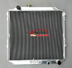 For Toyota 4Runner Hilux Surf KZN185 3.0L Diesel 1996-2002 MT Aluminum Radiator
