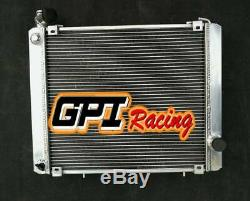 For Triumph Stag 3.0 V8 MK2 MT 1972-1977 1973 1974 Aluminum Radiator 62MM CORE
