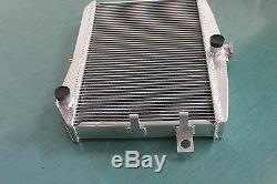 For Volvo Amazon P1800 B18 B20 engine GT 1959-1970 M/T aluminum alloy radiator