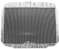 Ford Mustang 289 302 351 V8 1968 1969 24 Alloy Heavy Duty Radiator V8 Aluminium