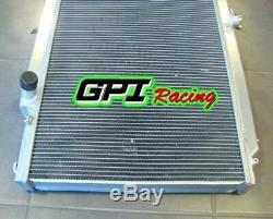 GPI racing aluminum alloy radiator Nissan GU PATROL Y61 PETROL 4.5L manual