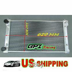 Gpi Aluminum Alloy Radiator Vw Golf/rabbit/scirocco Gti Mk1/2 8v/16v M/t