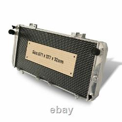 HIGH FLOW 2 Row Aluminium Radiator For Toyota MR 2 MK2 SW20 3SGTE 2.0L 89-99