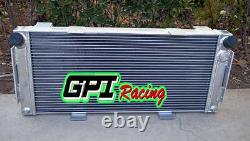 Hi-Perf 70MM aluminum alloy radiator FORD GT40 V8 1964-1969 1965 1966 1967
