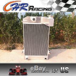 Hi-perf. 3 Row Aluminum Alloy Radiator Triumph Tr2/tr3/tr3a/tr3b Mt