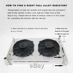 High Flow Aluminium Alloy Radiator Rad Rover 25 45 200 400 Mg Zr Zs