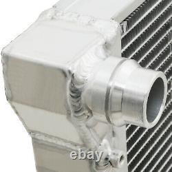 High Flow Aluminium Race Radiator Rad For Vw Scirocco 137 138 2.0 Tsi R Tfsi